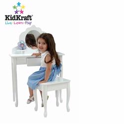 KidKraft 13009 Medium Diva Table & Stool