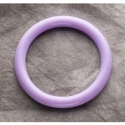 Teething Bling BAN-AMBAN Baby Teething Bangle, Amethyst