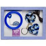 Teething Bling GSPEN-BCGS BabyTeething Gift Set, Blue Camouflage