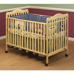 Orbelle Emma - 372N Crib w/Toddler rail Guard - Natural