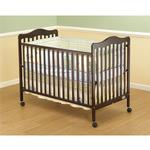 Orbelle Emma - 372C Crib w/Toddler rail Guard - Cherry