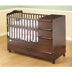 Orbelle   M300C Crib U0026 Bed 300 Mini / Portable Size Crib   Cherry