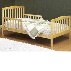 Orbelle - 401N Solid Wood Toddler Bed - Natural