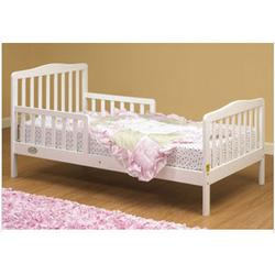 Orbelle - 401W Solid Wood Toddler Bed - White