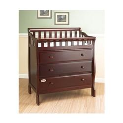 Orbelle 3143C Changing Station with 3 Drawers, Cherry