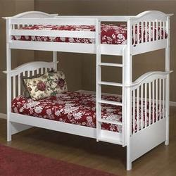 Orbelle BB 450W Bunk Beds  BB 450/39-W, White