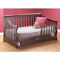 Orbelle 3141C Toddler Bed w/ Storage drawer, Cherry