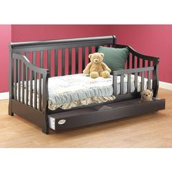 Orbelle 3141ES Toddler Bed w/ Storage drawer, Espresso