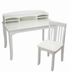 KidKraft 26705 Avalon Desk with Hutch, White