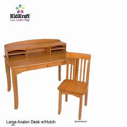 KidKraft 26706 Avalon Desk with Hutch, Honey