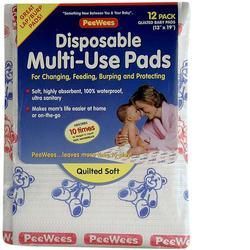 PeeWees D120 12-Pack Reusable Poly Bag