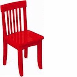 KidKraft 16602 Avalon Chair, Red