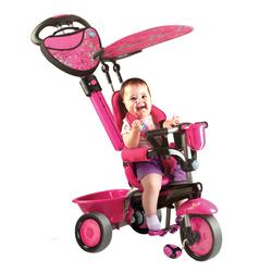 Smart Trike 1570200 Zoo, Pink/Black Butterfly