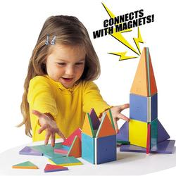 Magna-Tiles  02300 Standard-100 pc. Set (Value Pack)