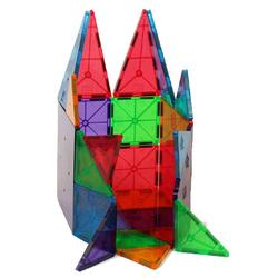 Magna-Tiles  02132 Clear Colors 32 pc. set, 3-D Magneic Manipulatives