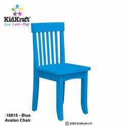 KidKraft 16615 Avalon Chair, Aqua