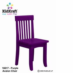 KidKraft 16617 Avalon Chair, Grape