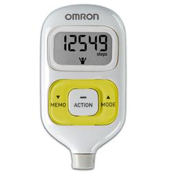 Omron HJ-203YL GOsmart® Pocket Pedometer, Yellow