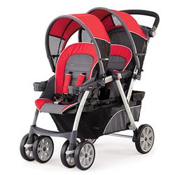 Chicco 05079043970070 Together Stroller Fuego USA, Grey/Red