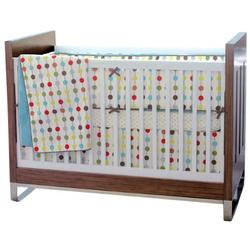 Skip Hop 276001, Mod Dot 4-Piece Crib Bedding Set
