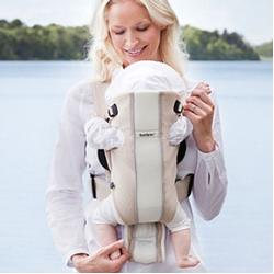 Baby Bjorn 029017US, Baby Carrier Air - Sand/White