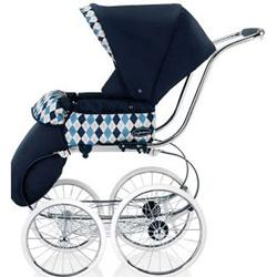 Inglesina CLASS111BTB Classica Stroller with Hood and Frame - Arglye Blue