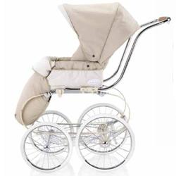 Inglesina CLASS116VNL Classica Stroller with Hood and Frame - Vanilla