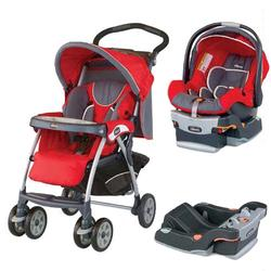 Chicco, COTRBAFUEG, Cortina Travel System, Fuego W/2 Keyfit 30 Seat Base