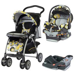 Chicco, COTRBAMIRO, Cortina Travel System, Miro W/2 Keyfit 30 Seat Base