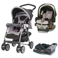 Chicco, COTRBAROMA, Cortina Travel System, Romantic W/2 Keyfit 30 Seat Base