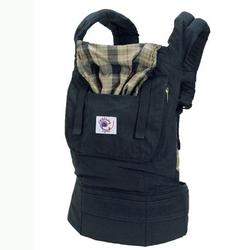 Ergo Baby BCO417NP, Organic Highland Navy Plaid Baby Carrier
