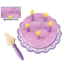 Kidkraft 63148, Personalize It Birthday Cake Set