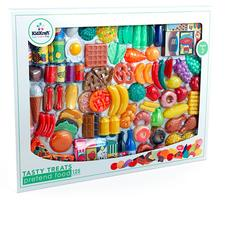 KidKraft 63187, Yummy Play Food Set 125 pc