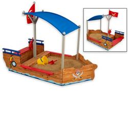 KidKraft 00128 - 78 in. Pirate Sandboat