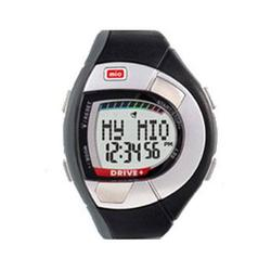 Mio 0018US-BLK2, Drive Heart Rate Watch Black w/ charcoal grey