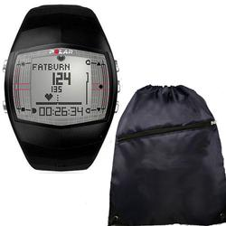 Polar FT40 99041399 Heart Rate Monitor , Male Black w/ Free Cinch Bag