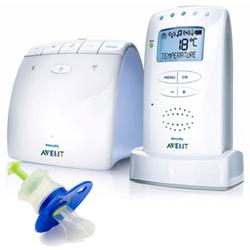 Avent Baby Monitor SCD525/00, DECT Technology Baby Monitor with Medicine Dispenser