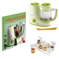 Beaba BKIT1, BabyCook 4 blender kit with Babycook Book and Baby Cubes