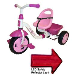 Kettler 8838-790, Kettrike Happy Prinzessin Navigator with LED Reflector Light