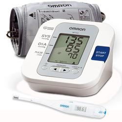 Omron BP742  5 Series™ Upper Arm Blood Pressure Monitor with Thermometer