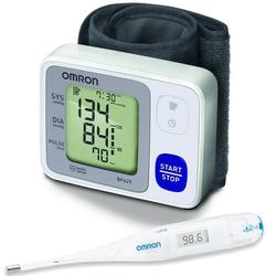 Omron BP629 3 Series™ Wrist Blood Pressure Monitor with Thermometer