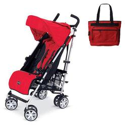 Britax U351771KIT1, B-Nimble stroller - Red with Diaper bag