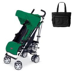 Britax U351773KIT1, B-Nimble stroller - Green with Diaper bag