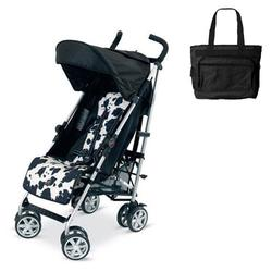 Britax U351775KIT1, B-Nimble stroller - Cowmooflage with Diaper bag