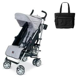 Britax U351780KIT1, B-Nimble stroller - Black/Silver with Diaper bag