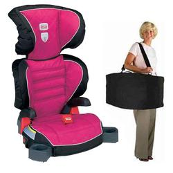Britax E9LD22SKIT1, Parkway SGL - Booster Seat travel system with a car seat Travel Bag - Livia