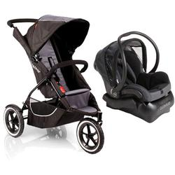 Phil & Teds C7KIT3 Classic single Stroller travel system with Maxi-Cosi- Black