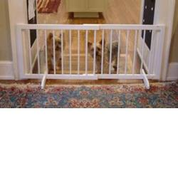 Cardinal Gates SGWH Step Over Gate - White