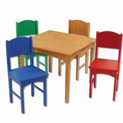 KidKraft 26121 Nantucket Table & 4 Chairs, Primary
