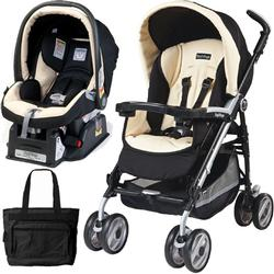 Peg Perego 2011 Pliko P3 Travel System with a Diaper Bag - Paloma